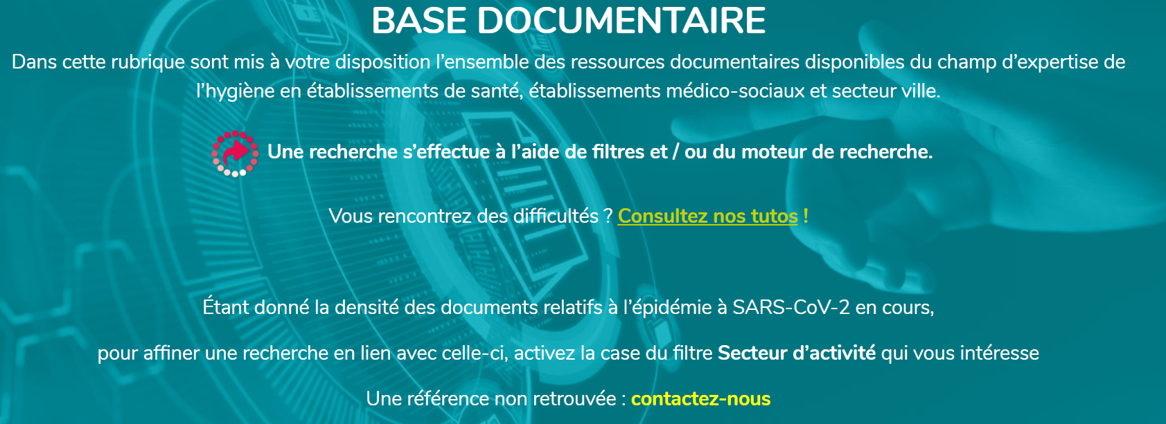 base documentaire REPIAS